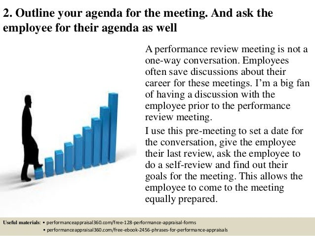 how to conduct a management review meeting
