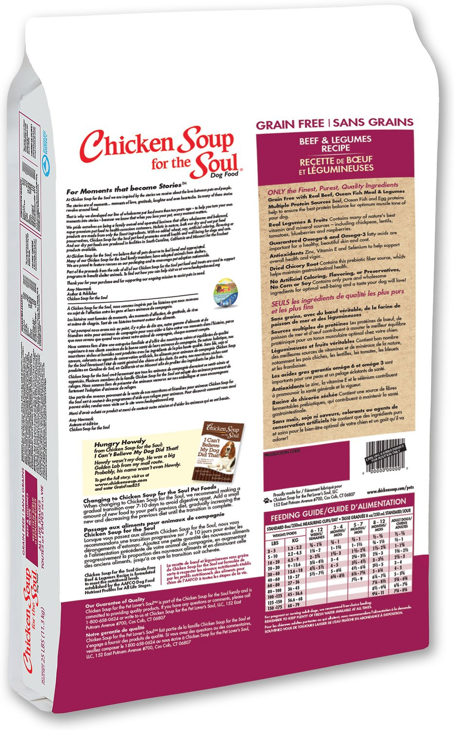 chicken soup for the soul grain free dog food reviews