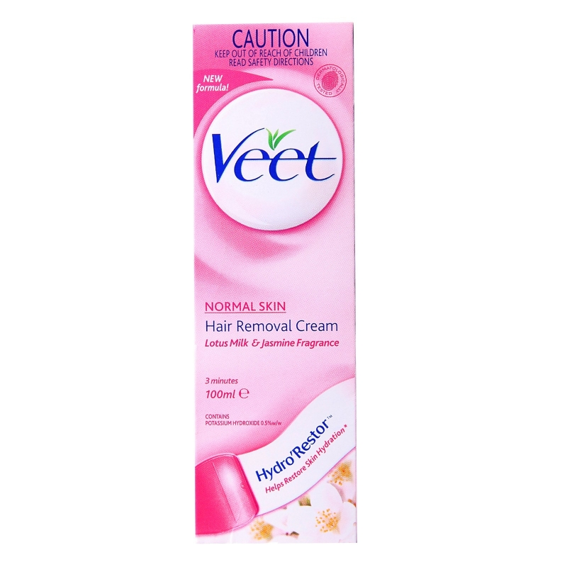 veet hair removal cream normal skin review