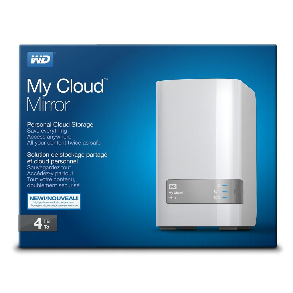 wd my cloud mirror review 2017