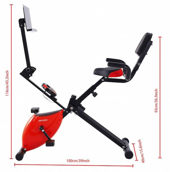 folding recumbent exercise bike reviews