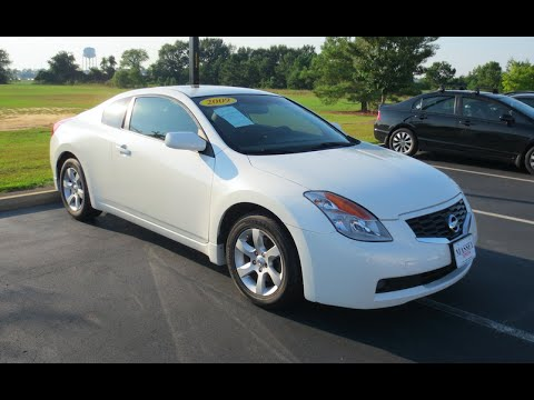 nissan altima coupe review 2009
