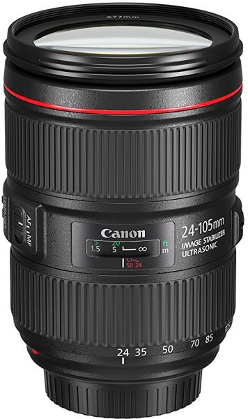 canon ef 24 105mm f 4l is usm lens review