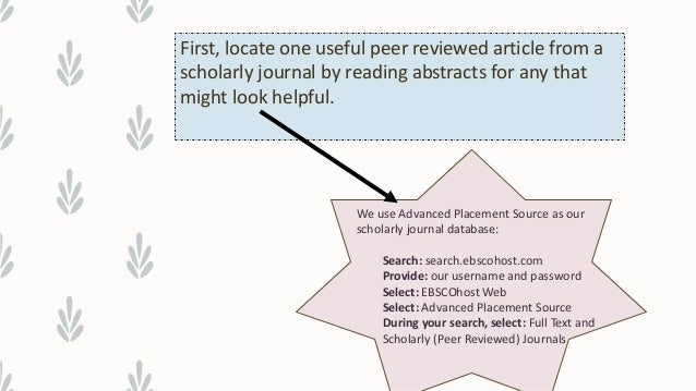 full text peer reviewed journal articles