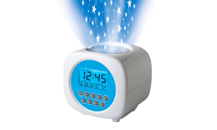 discovery projection alarm clock reviews